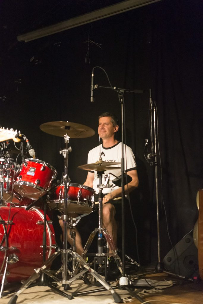 Thomas Kessler an den Drums